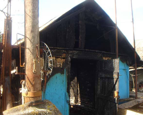Как восстановить документы и дом после пожара продуманная