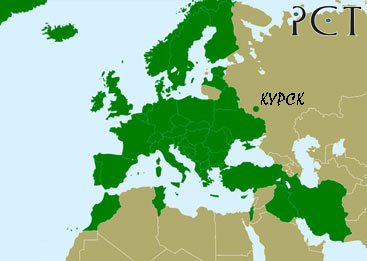 зеленая карта украина